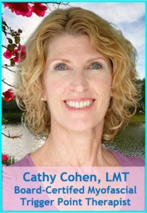 Cathy Cohen LMT Board-Certified Myofascial Trigger Point Therapist